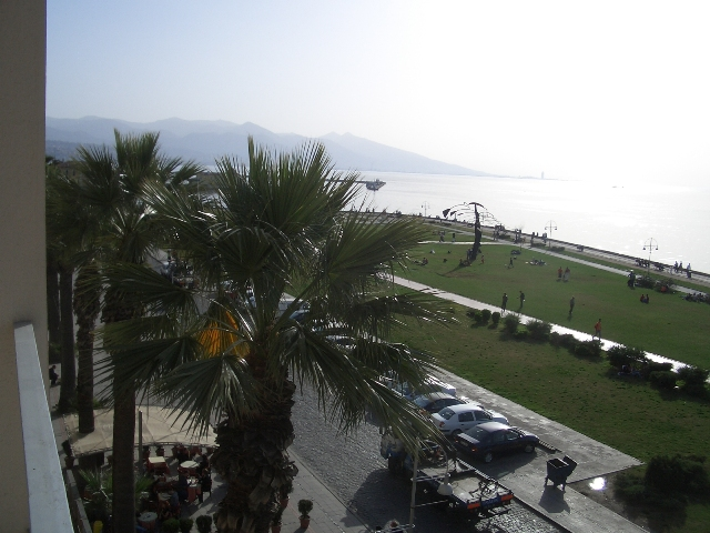 View from hotel room, Izmir